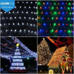 RGB led fairy light nets for tree